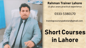 short courses in Lahore